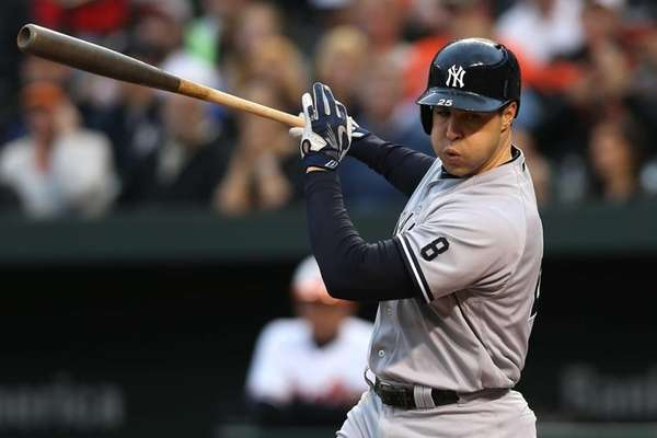 Mark Teixeira #25 of the New York Yankees