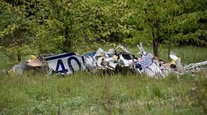 A small plane carrying three people crashed in