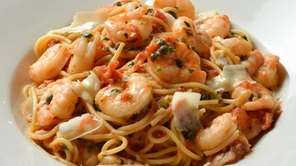 Shrimp Rossini at Bertucci's and more of the