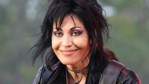 Joan Jett, seen on June 11, 2014, is