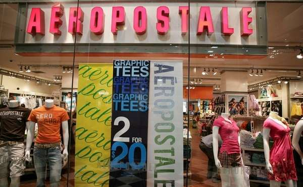 An Aeropostale store in Manhattan on March 11,