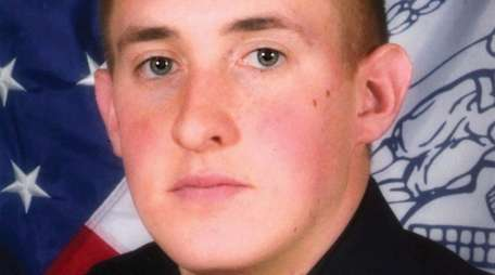 NYPD Officer Brian Moore died May 4, 2015,