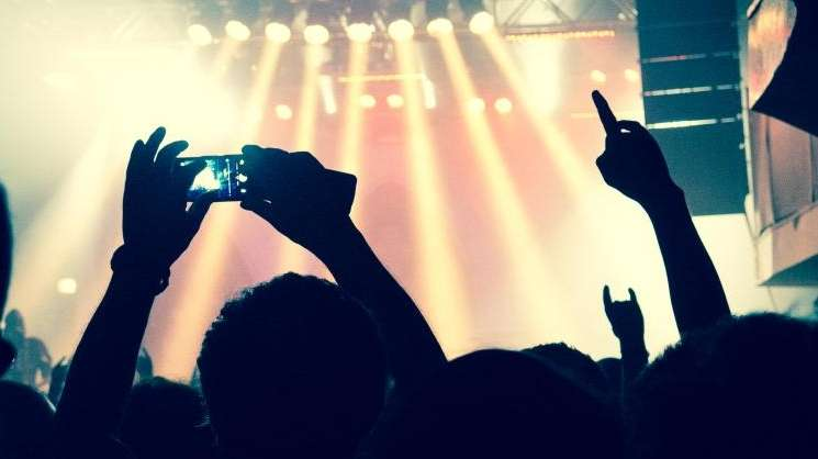 At concerts, while some choose to be present