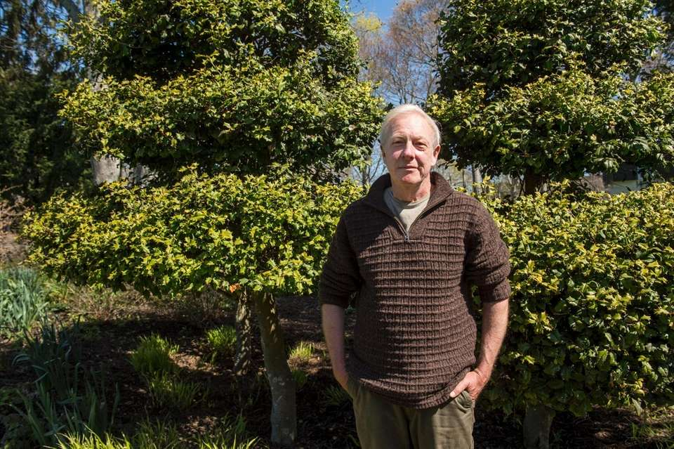 Garden manager at Bridge Gardens, Bridgehampton Rick Bogusch