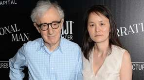 Director Woody Allen and wife Soon-Yi Previn.