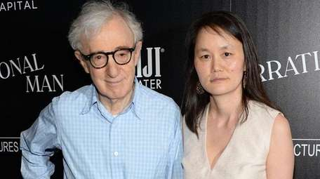 Director Woody Allen and wife Soon-Yi Previn. Allen,
