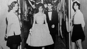 Guests entering the 1961 Massapequa High School Junior