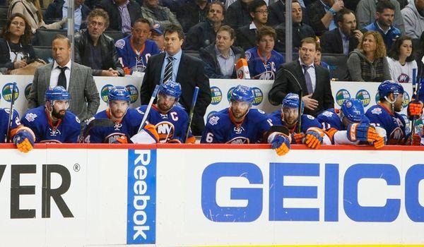 New York Islanders head coach Jack Capuano along