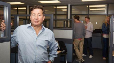 William Nass, president of Teledata Communications, plans to