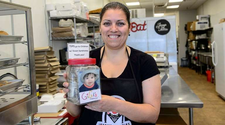 Jessy Nahmias, owner of recently opened Jessy's Pastries,