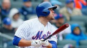 Lucas Duda #21 of the New York Mets
