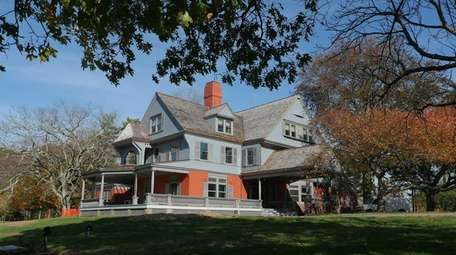 The Sagamore Hill historic site saw a 119