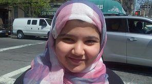 Reem Al Sheedi tells her hospitalized mother that