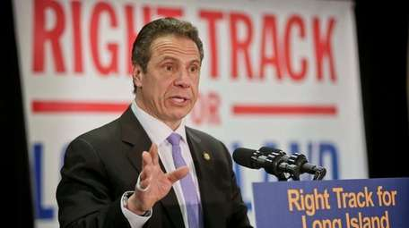 Gov. Andrew M. Cuomo speaks about the third