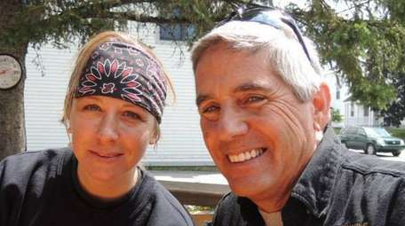Dana E. Parenteau, 49, left, and David C.