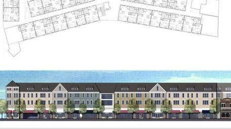 Rendering of the Gateway Plaza Development in