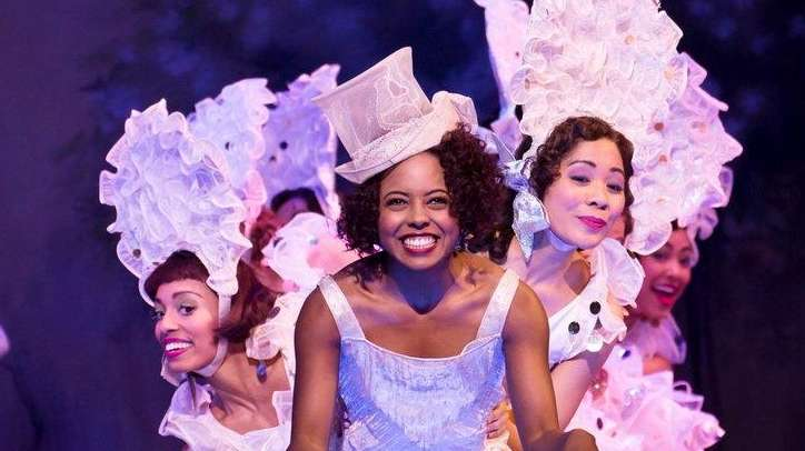 Adrienne Warren and company perform