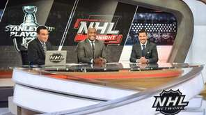 The NHL Tonight show features Tony Luftman,