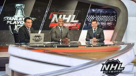 The NHL Tonight show features Tony Luftman, Kevin