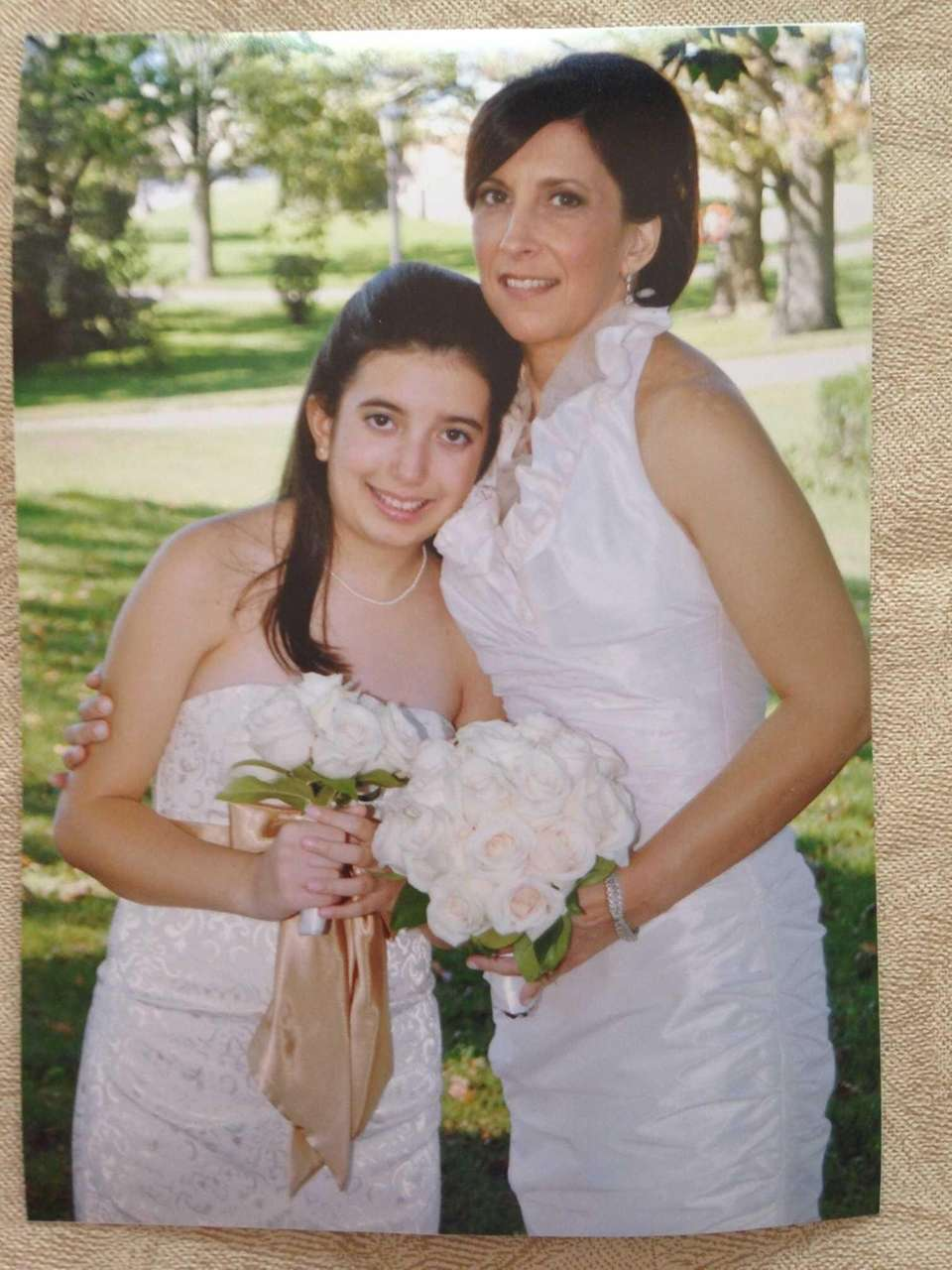 Joanne Larrea with my daughter, Allegra Larrea