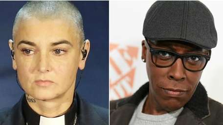 Comedian Arsenio Hall, right, filed a $5 million