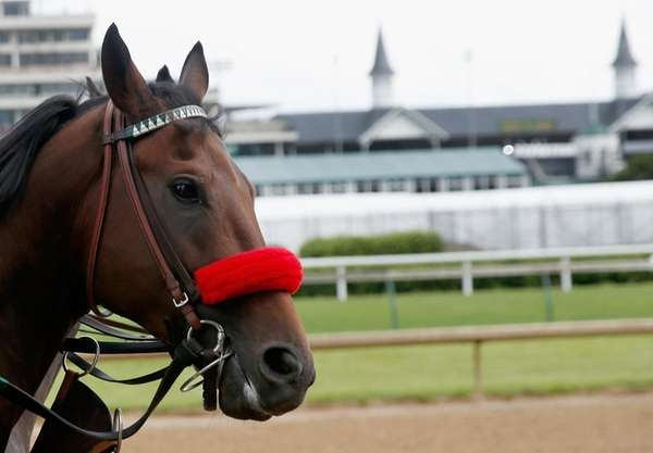 Nyquist waits to train on the track