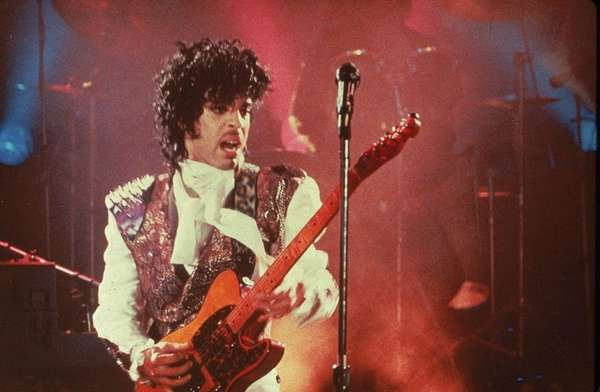 Prince performs in his debut movie