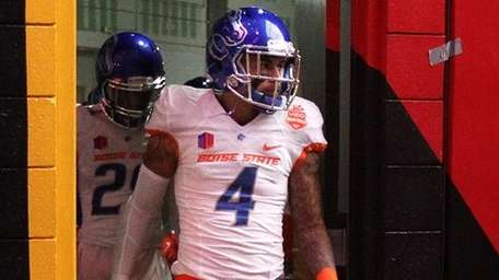 Safety Darian Thompson of the Boise State Broncos