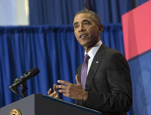 President Barack Obama urged the media and American