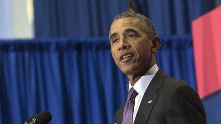 President Barack Obama urged the media and American