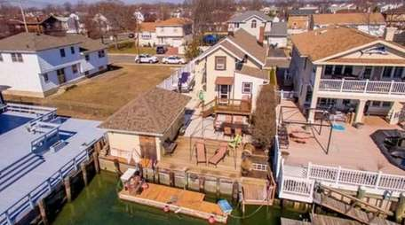 Anthony Puliatte's Baldwin Harbor home has many unusual