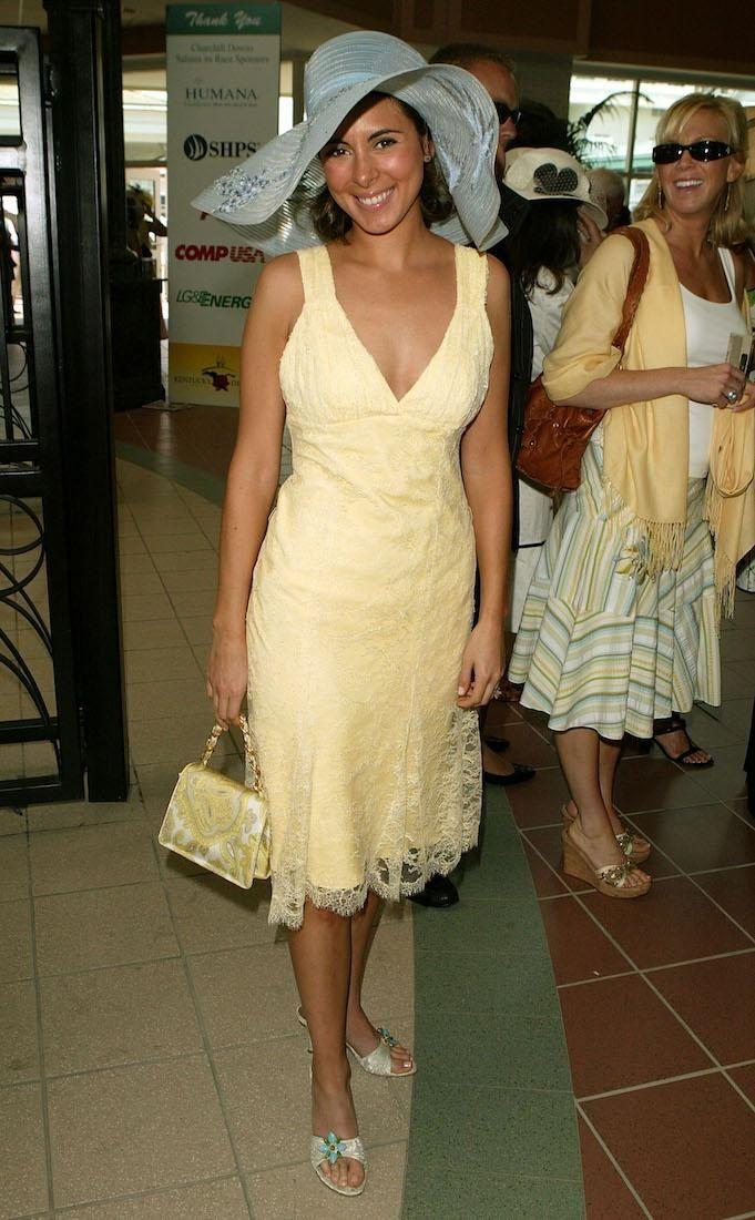 Actress Jamie-Lynn Sigler arrives at the 131st running