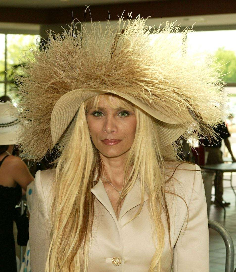 Reality television personality Victoria Gotti arrives at the