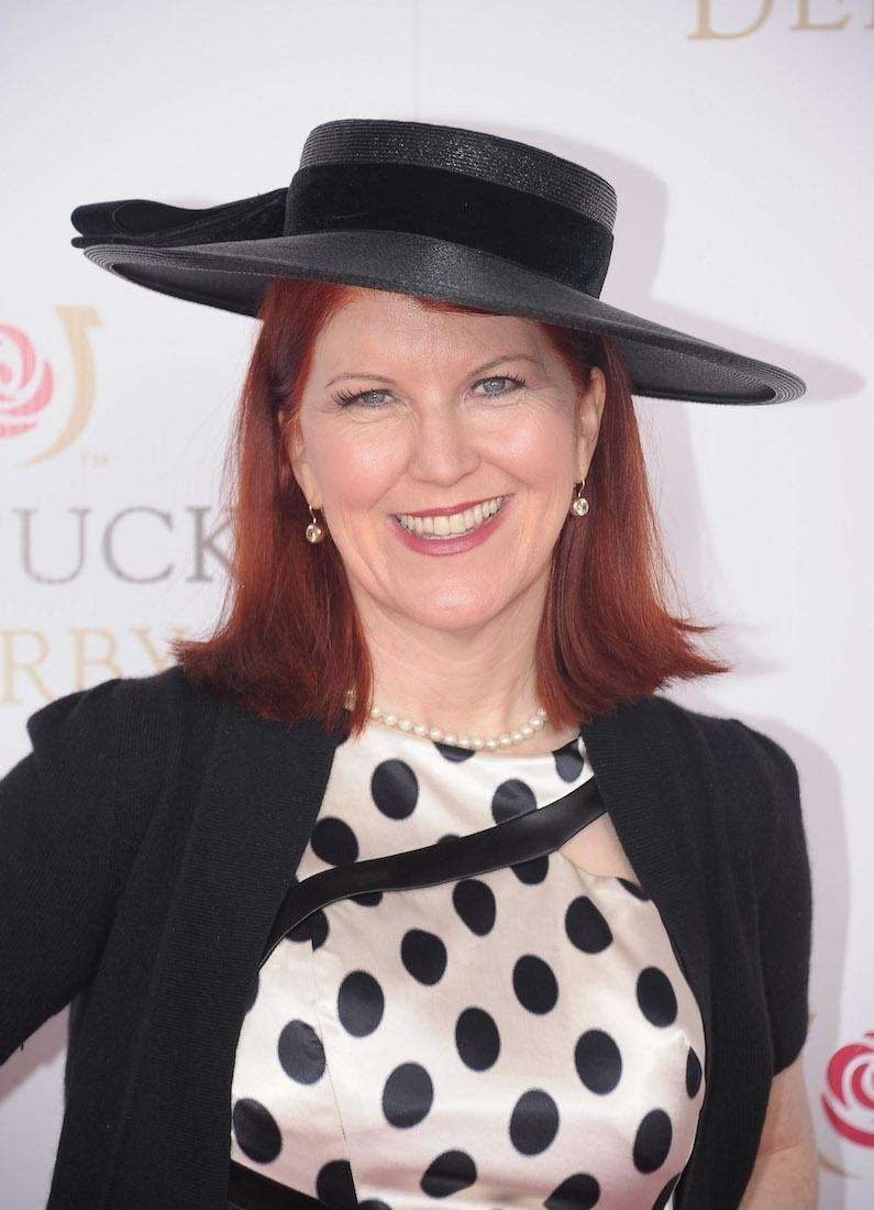 Actress Kate Flannery attends the 138th running of
