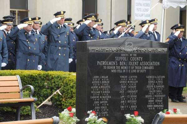 The Suffolk County police remember and honor the