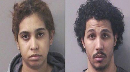 Jasmine Hylton, 29, and an accomplice, Kevin Peterkin,