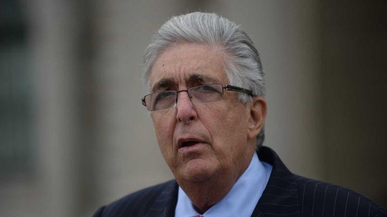 Former Nassau County Comptroller Howard Weitzman on Sept.