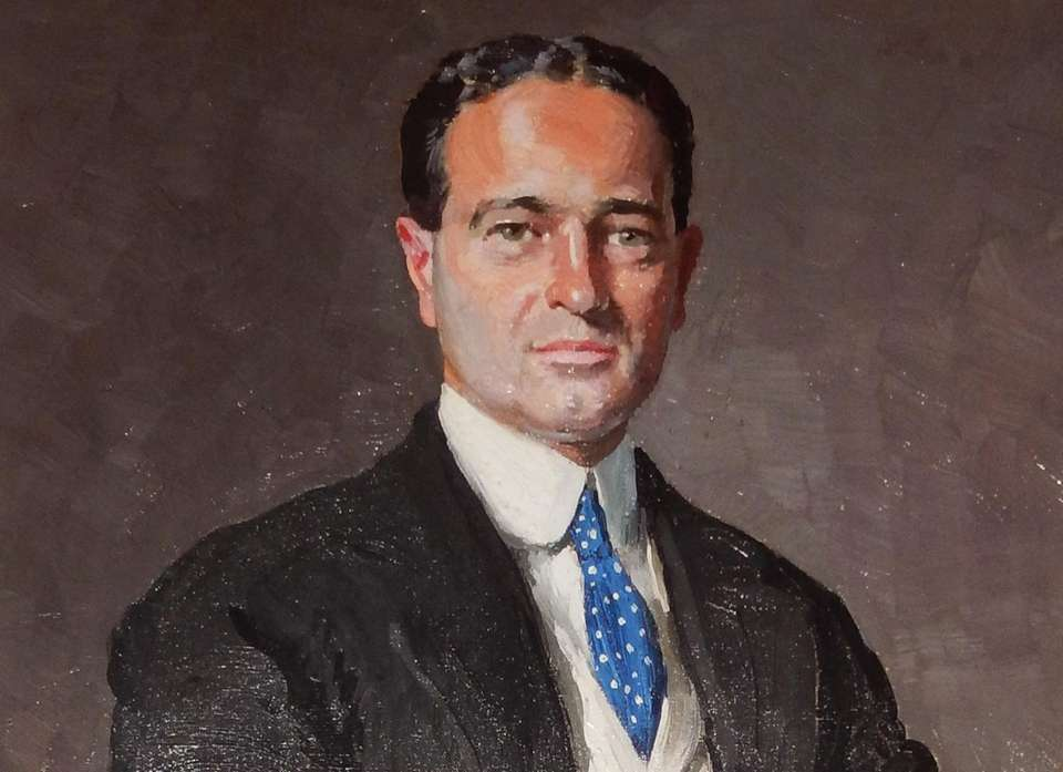 A portrait of the 40-year-old William K. Vanderbilt