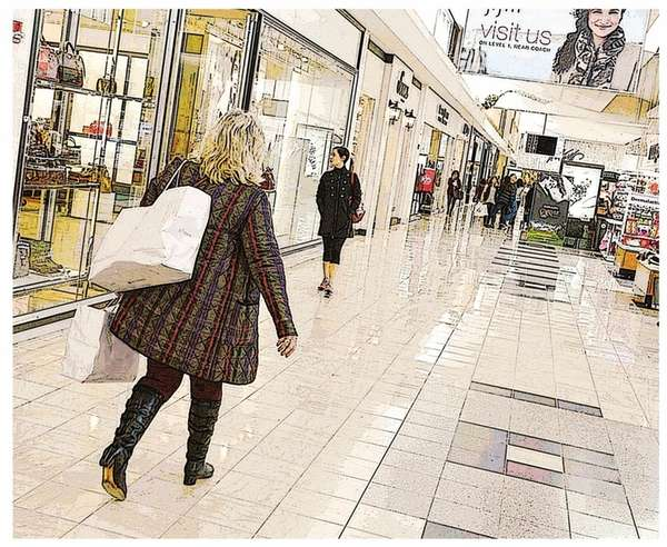 Malls are evolving in the face of online