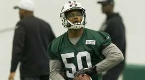 Linebacker and first-round draft pick Darron Lee works