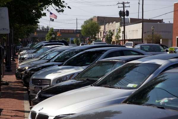 Parking on Wellwood Avenue in Lindenhurst, May 27,