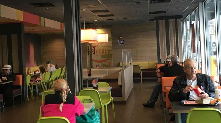 McDonald's in Garden City is the first on
