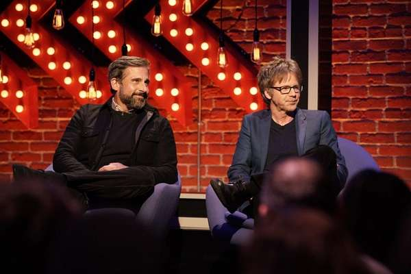 Steve Carrell and Dana Carvey help young