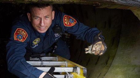 Suffolk County police emergency service Officer Lance Prager