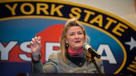 Manhattan attorney Wendy Long is challenging Sen. Chuck