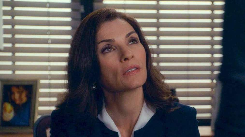 Julianna Margulies bid farewell to her role of
