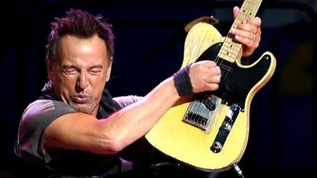 Bruce Springsteen and the E Street Band play