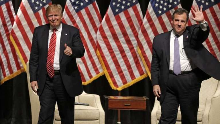 Republican presidential candidate Donald Trump and New Jersey