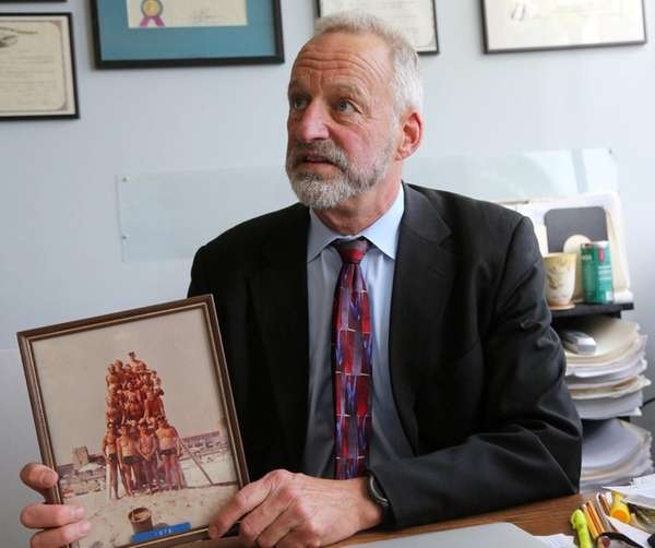 Roy Lester, a veteran Jones Beach lifeguard, claims