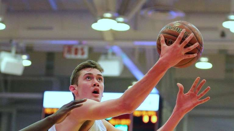 Northport's Lukas Jarrett, who averaged 14.5 points and